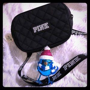 PINK VICTORIA SECRET belt bag